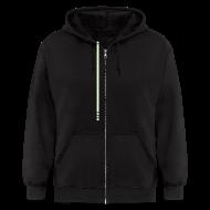Zip Hoodies & Jackets ~ Men's Zip Hoodie ~ Kevin Flynn hoodie (glow)