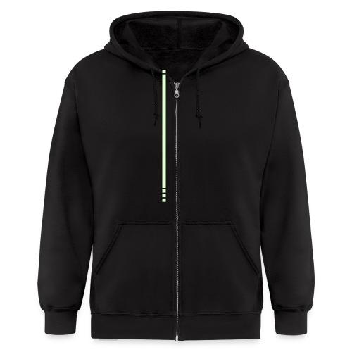 Kevin Flynn hoodie (glow) - Men's Zip Hoodie