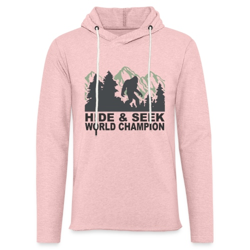 Hide & Seek Champ! - Unisex Lightweight Terry Hoodie