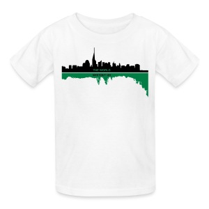 the world whitout us - Kids' T-Shirt