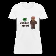 Women's T-Shirts ~ Women's T-Shirt ~ Where'd My Wood Go!? - Womens Shirt