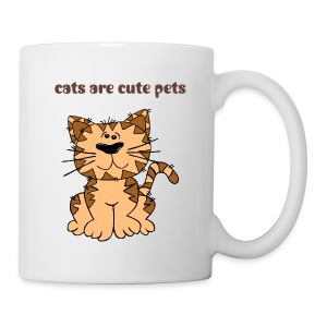 cats-cute pets - Coffee/Tea Mug
