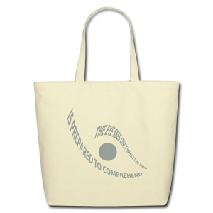 the eye - Eco-Friendly Cotton Tote