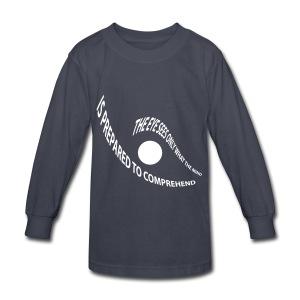 the eye - Kids' Long Sleeve T-Shirt