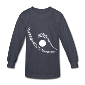 the eye - Kids' Long Sleeve T-Shirt