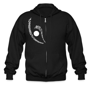 the eye - Men's Zip Hoodie