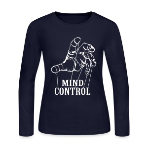 mind control - Women's Long Sleeve Jersey T-Shirt