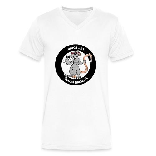 Dirty Rat - Mens V-Neck - Men's V-Neck T-Shirt by Canvas