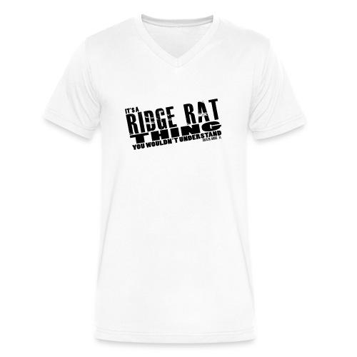 Ridge Rat Thing - Mens V-Neck - Men's V-Neck T-Shirt by Canvas