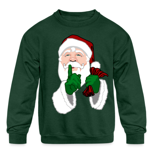 Santa Shirts Kid's Festive Santa Clause Sweatshirts - Kids' Crewneck Sweatshirt