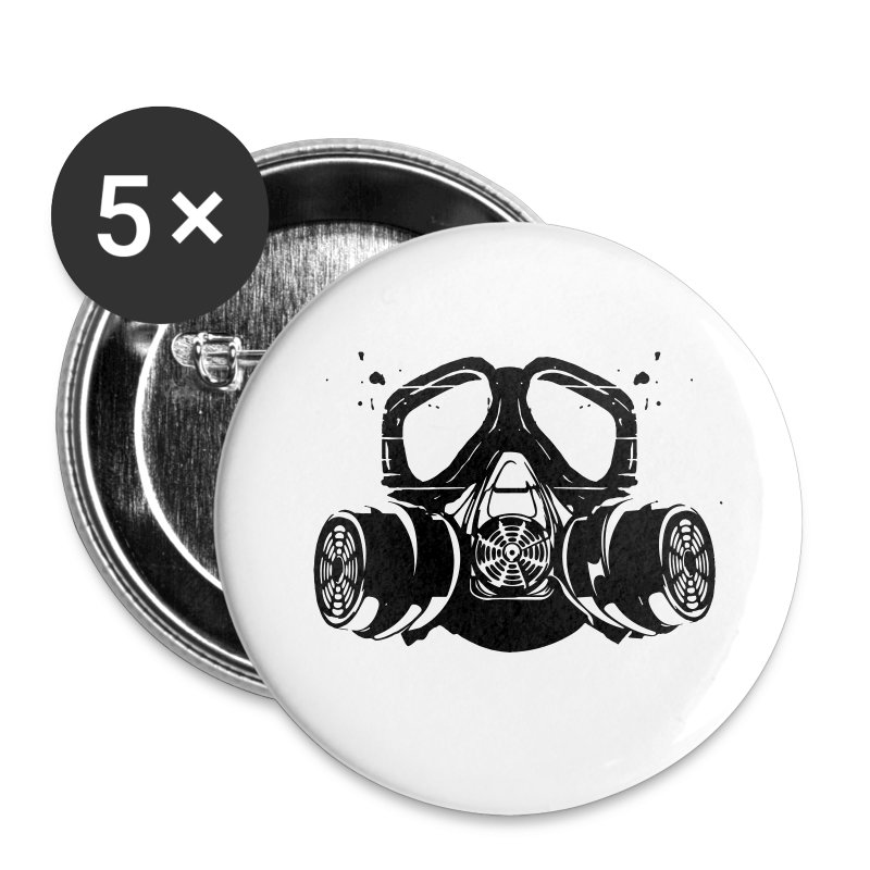 gas mask - Large Buttons