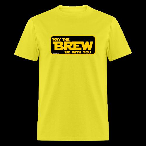 May The Brew Be With You Men's T-Shirt - Men's T-Shirt