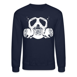 gas mask - Crewneck Sweatshirt