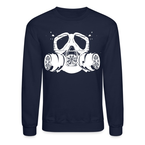 gas mask - Crewneck Sweatshirt