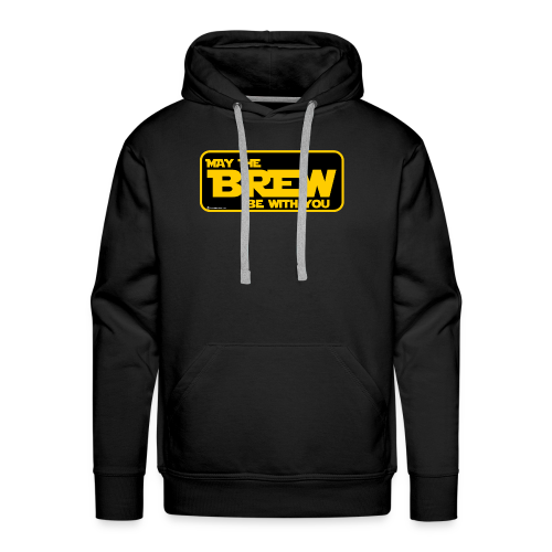May The Brew Be With You Men's Premium Hoodie - Men's Premium Hoodie
