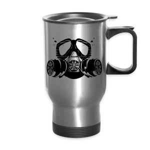 gas mask - Travel Mug
