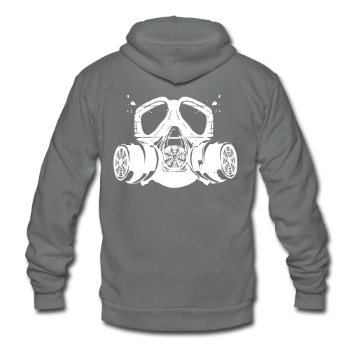 gas mask - Unisex Fleece Zip Hoodie