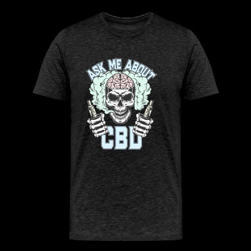 Ask Me About CBD - Men's Premium T-Shirt
