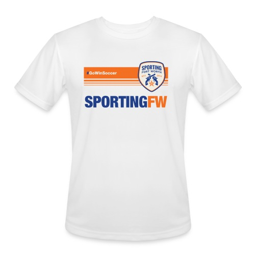 SFW Tech Shirt Trainer 2018 (white) - Men's Moisture Wicking Performance T-Shirt