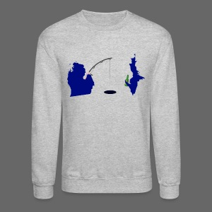 Best Friends Ice Fishing - Crewneck Sweatshirt