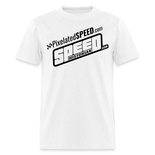 PixelatedSPEED - Speed Historian Combo - Men's T-Shirt