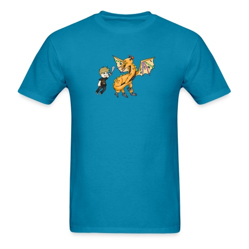 Men's Arcade Warrior Dragon T-Shirt - Men's T-Shirt
