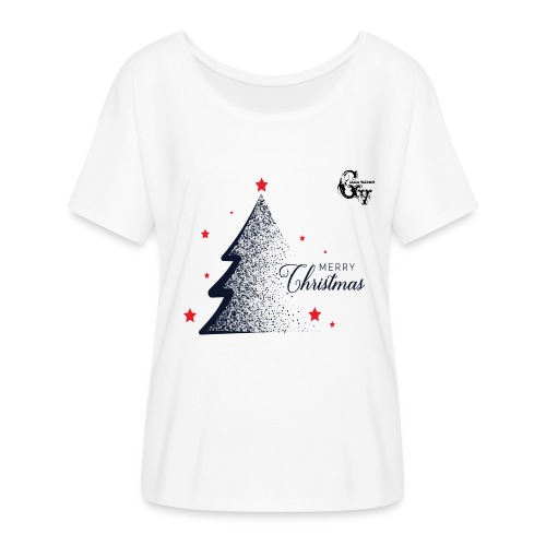 GV Christmas Woman T-Shirt #2 - Women's Flowy T-Shirt