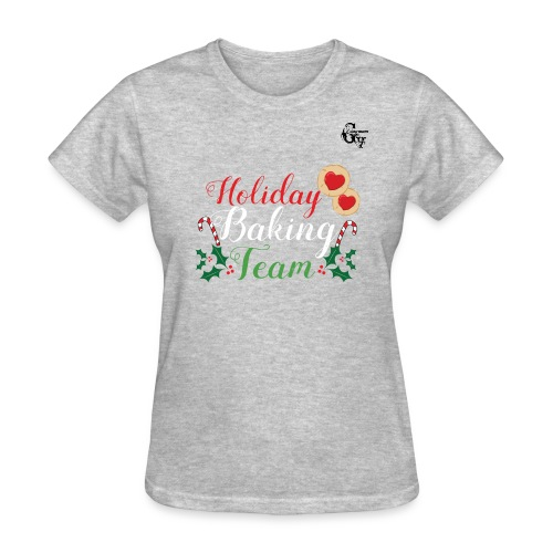 GV Christmas_ Baking T-shirt Woman - Women's T-Shirt