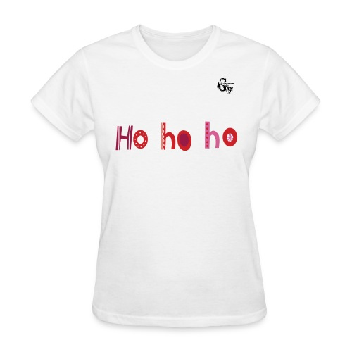 GV Christmas HoHoHo Woman T-shirt - Women's T-Shirt