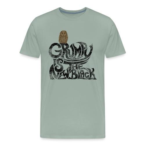 Grumpy is.... - Men's Premium T-Shirt