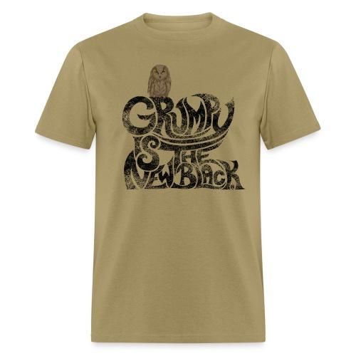 Grumpy is.... - Men's T-Shirt