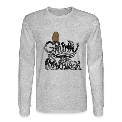 Grumpy is.... - Men's Long Sleeve T-Shirt