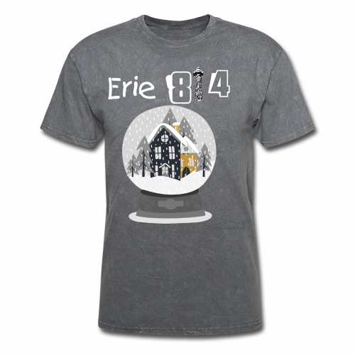 Erie 814  Snow Globe - Men's T-Shirt
