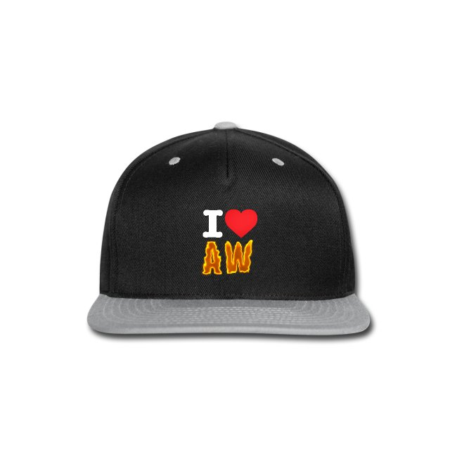 84e77304a81a8 I Love AW Snap Back Hat