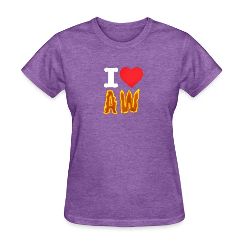 Women's I Love AW T-Shirt - Women's T-Shirt