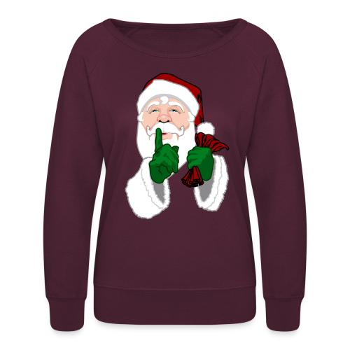 Santa Clause Shirts Santa Sweatshirt  - Women's Crewneck Sweatshirt