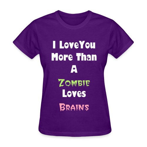 Women's More Than A Zombie Tee - Women's T-Shirt