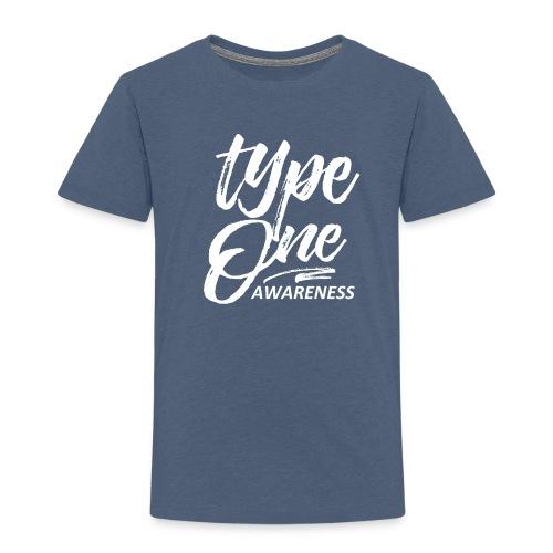 Type 1 Awareness Toddler Shirt - Toddler Premium T-Shirt