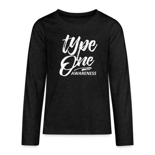 Type 1 Awareness Kids Long Sleeve - Kids' Premium Long Sleeve T-Shirt