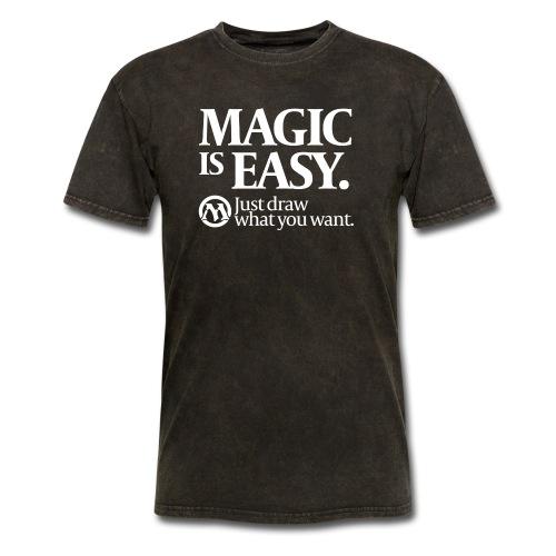 Magic is Easy - Men's T-Shirt