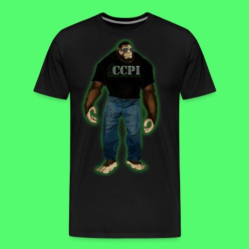PREMIUM MENS CCPI SQUATCH T-SHIRT - Men's Premium T-Shirt