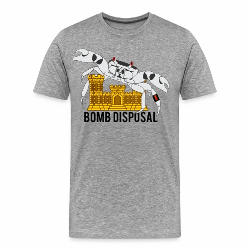 Crabs over Castles EOD - Men's Premium T-Shirt