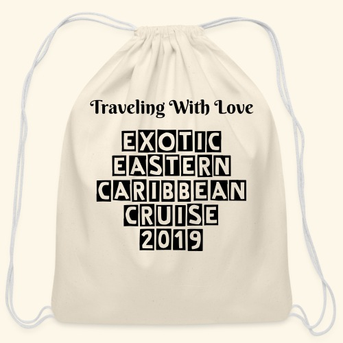 Limited Edition: Cotten Drawstring Bag - Cotton Drawstring Bag