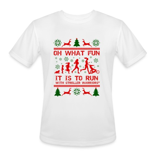 Men's Oh What Fun! Moisture Wicking Performance T-Shirt - Men's Moisture Wicking Performance T-Shirt