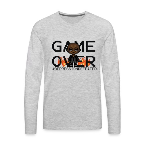 Game Over Long Sleeve Limited Edtion - Men's Premium Long Sleeve T-Shirt