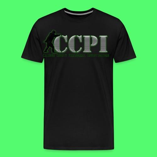 MEN'S PREMIUM CCPI LOGO T-SHIRT - Men's Premium T-Shirt