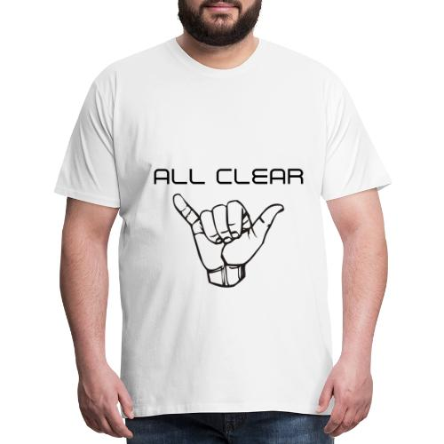 WATERPARK All Clear - Men's Premium T-Shirt