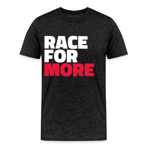 Race For More Men's Shirt - Men's Premium T-Shirt