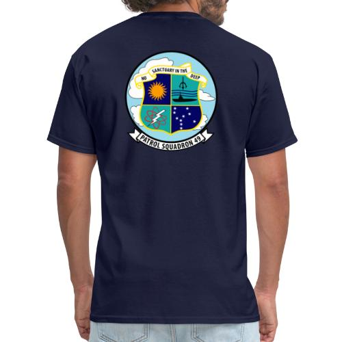 VP-49 Crest with Aviator Wings - Men's T-Shirt
