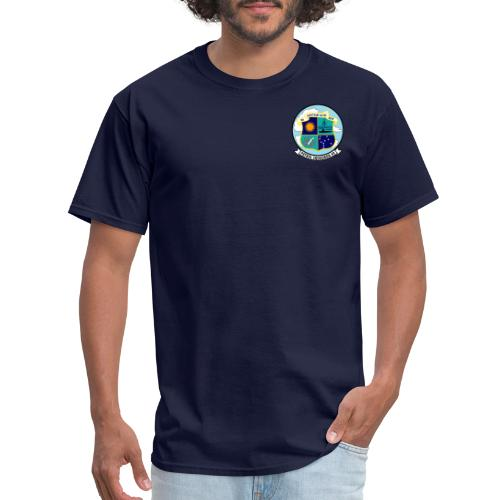 VP-49 Crest with P-3 Orion - Men's T-Shirt